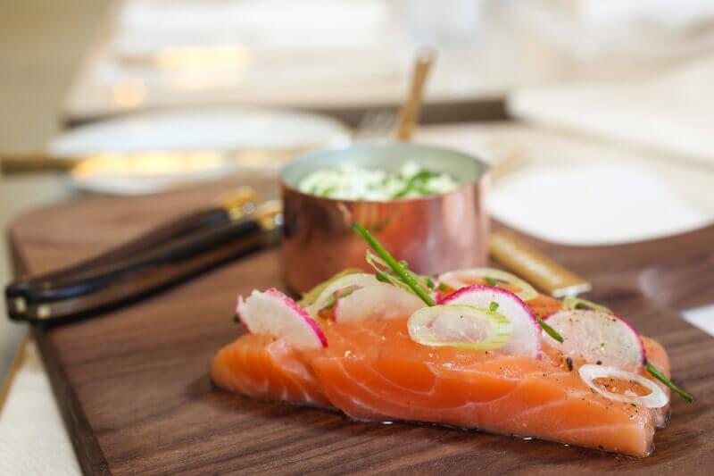 Bahia Mediterraneo Palma de Mallorca First Class Restaurant Salmon Teriyaki
